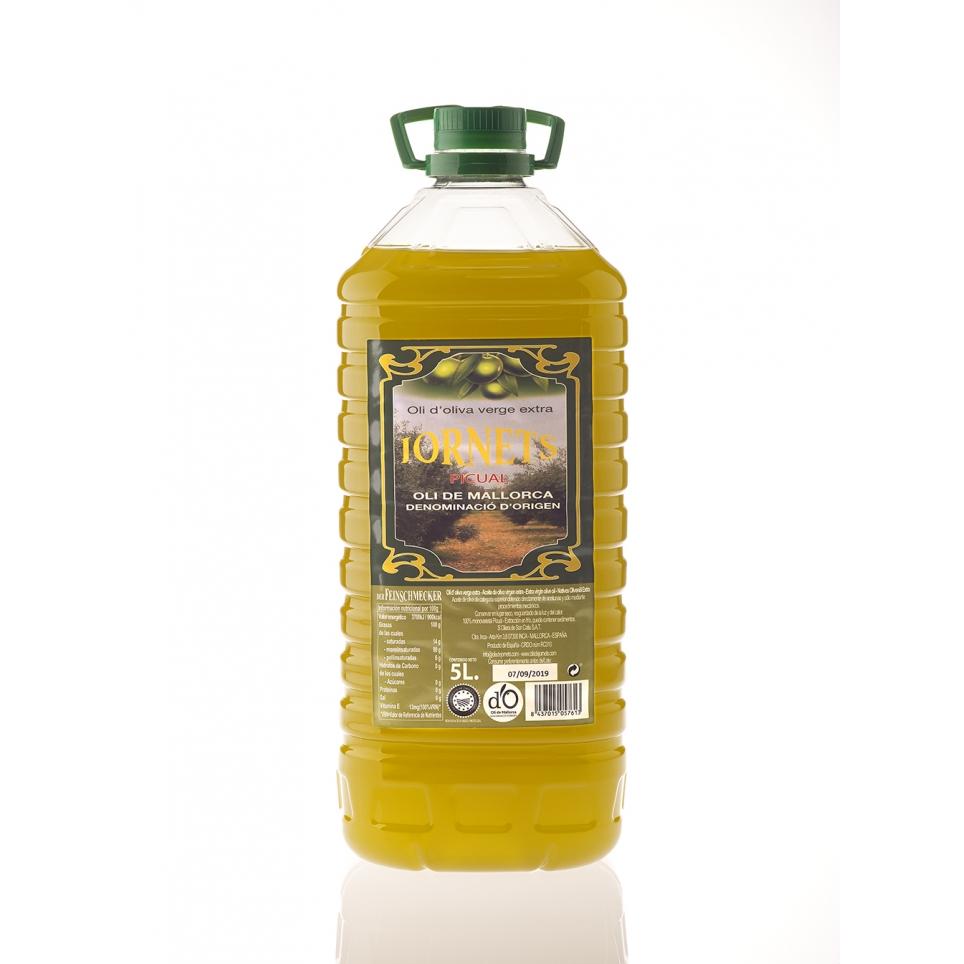 4 x oli d'oliva verge extra 5 litres