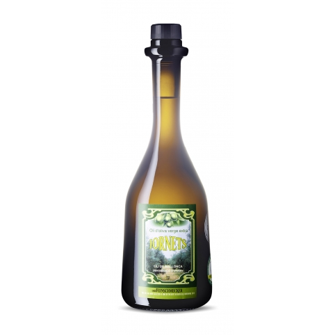 (6 x 12€) Bouteille de 50 cl. huile d'olive vierge Gourmet
