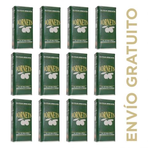 (Envío gratuito, 12u) Lata 50 cl. aceite oliva virgen extra